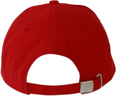 b8412e07625 Red Hi-Lite Peak Volume Ferrari Cap