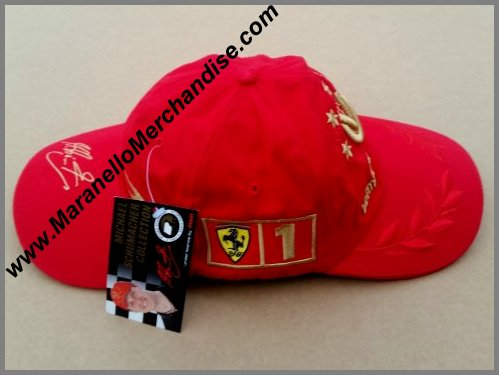 1677d3950ac 2002 Michael Schumacher DOUBLE CAP Very Rare