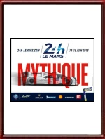Original 2016 24 Hours of Le Mans Poster