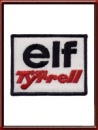 Vintage Tyrrell Elf Sew-On Patch circa 1976