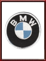 Vintage BMW Logo Sew-On Patch