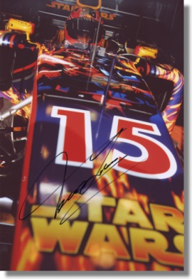Vitantonio Liuzzi signed Red Bull Racing Photo REDUCED PRICE!