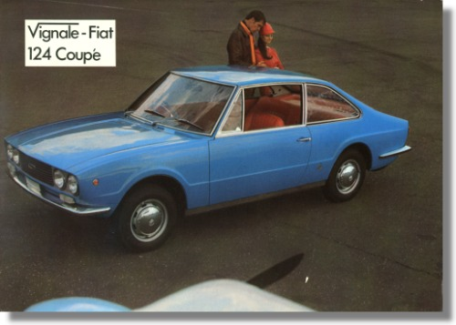 1967 Fiat 124 Vignale Eveline Sales Sheet UK