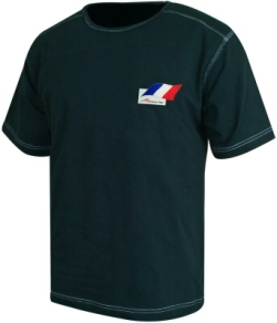 A1 GP Team France - Flag T- Shirt - Black