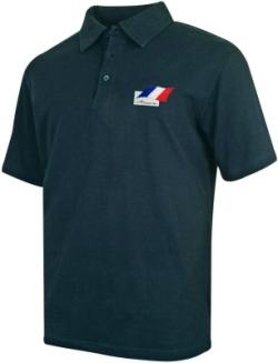 A1 GP Team France - Flag Polo Shirt - Black