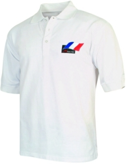 A1 GP Team France - Flag Polo Shirt - White