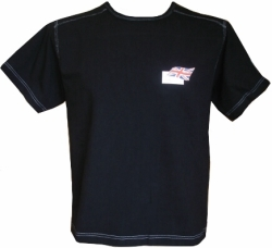 A1 GP Team Great Britain - Flag T- Shirt - Black