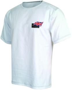 A1 GP Team Great Britain - Flag T- Shirt - White
