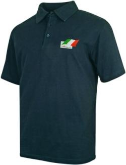 A1 GP Team Ireland - Flag Polo Shirt - Black