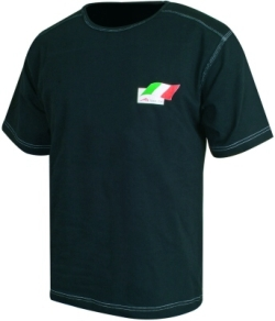 A1 GP Team Italy - Flag T- Shirt - Black