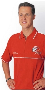 Michael Schumacher Polo Shirt - Speedline Kids Sizes FREE SHIPPING