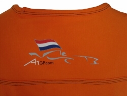 A1 GP Team Netherlands - Team T- Shirt - Orange