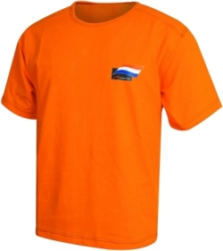 A1 GP Team Netherlands - Flag T- Shirt - Orange