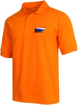 A1 GP Team Netherlands - Flag Polo Shirt - Orange