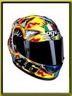 Valentino Rossi AGV Helmets