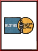 Vintage Bilstein Sew-On Patch