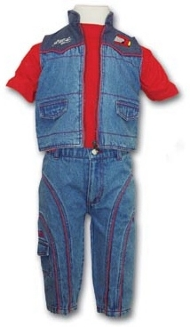 Michael Schumacher Jeans Set BABY SIZES FREE SHIPPING