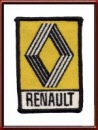 Vintage Renault Automobiles Sew-On Patch