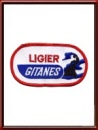 Vintage Ligier Gitanes Sew-On Patch