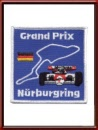 Vintage 1984 Nürburgring Grand Prix sew-on patch