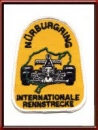 Vintage 1975 Nürburgring sew-on patch