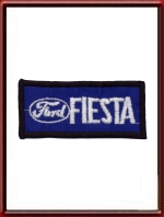 Vintage Ford Fiesta Sew-On Patch