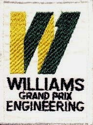 Vintage Williams Grand Prix Engineering Sew-On Patch